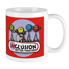 Inclusion Better Together Mug