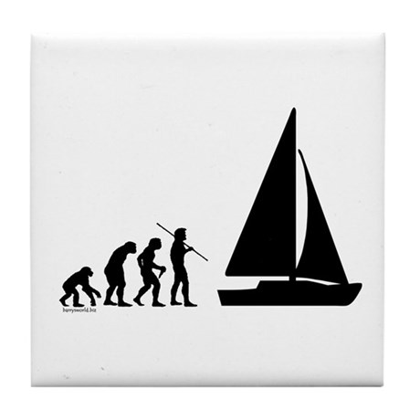 Sail Evolution Tile Coaster