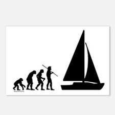 Sail Evolution Postcards (Package of 8)