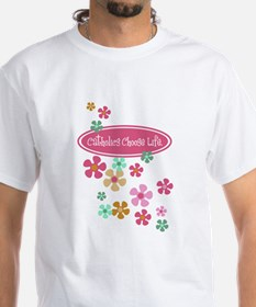 Pro Life is Good with Flowers Shirt