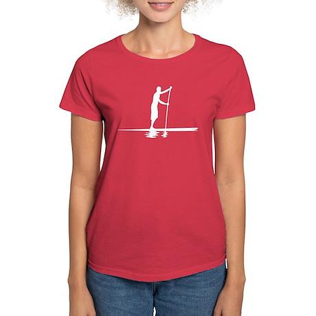 Paddleboarder MkI Women's Dark T-Shirt