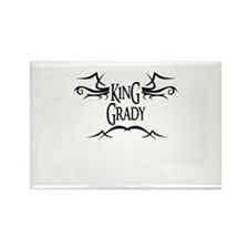 King Grady Rectangle Magnet