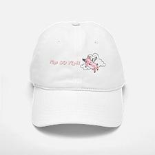 Pigs do fly Baseball Baseball Cap