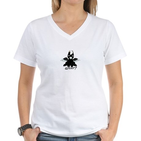 Pegasus with Attitude Women's V-Neck T-Shirt