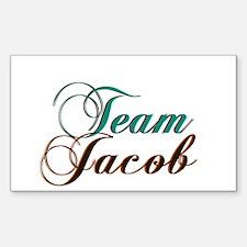 Elegant Team Jacob Rectangle Decal