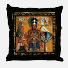 Cute Hieroglyphic Throw Pillow