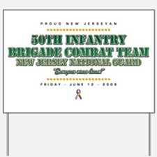 50th Infantry Yard Sign
