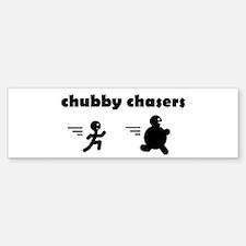 chubby chasers Bumper Bumper Bumper Sticker
