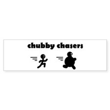 chubby chasers Bumper Bumper Sticker