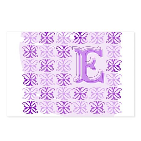 "Monogrammed ""E"" Postcards (Package of 8)"