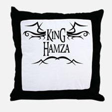 King Hamza Throw Pillow
