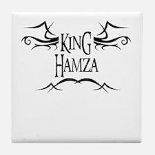 King Hamza Tile Coaster