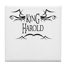 King Harold Tile Coaster