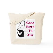 Good Ruck Engrish Tote Bag