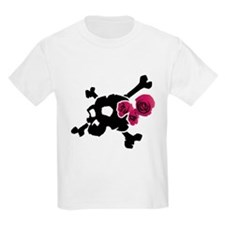 Skull with Roses T-Shirt