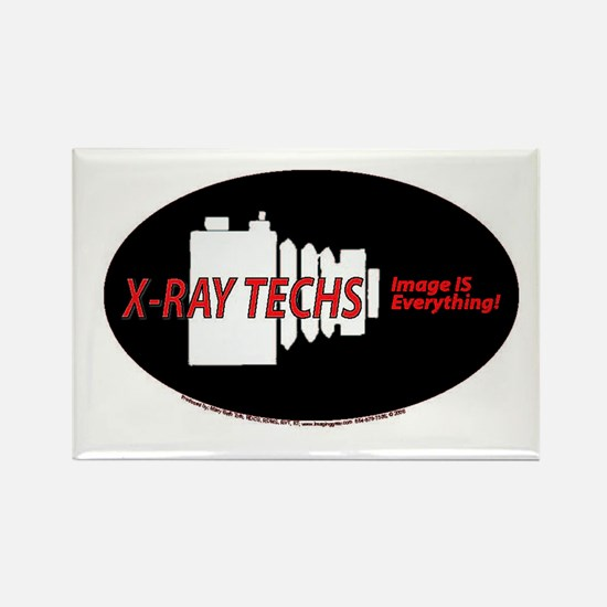 X-ray Techs Camera Rectangle Magnet
