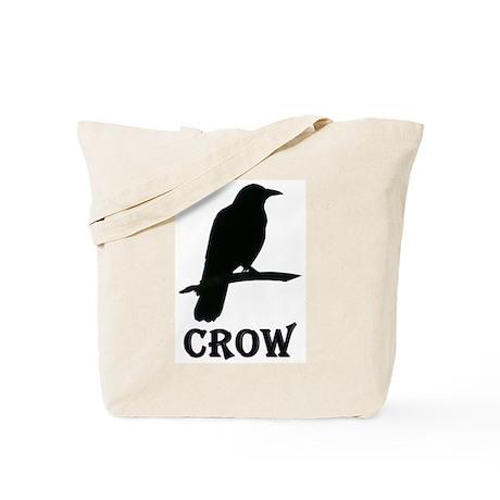 Black Crow Tote Bag