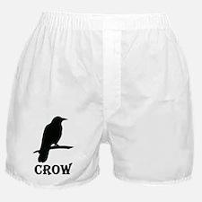 Black Crow Boxer Shorts