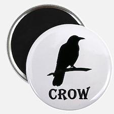 "Black Crow 2.25"" Magnet (10 pack)"