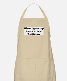 Be A Dietitian BBQ Apron