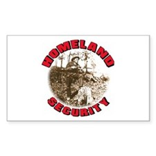 Homeland Security 1 Rectangle Decal
