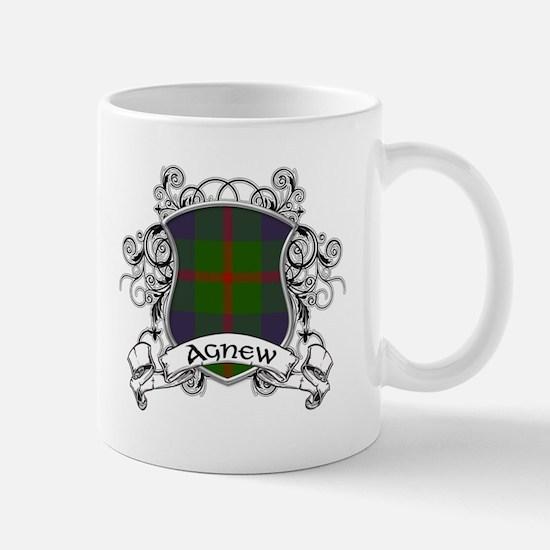 Agnew Tartan Shield Mug