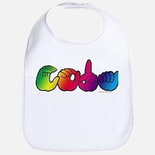 CODA Rainbow Bib