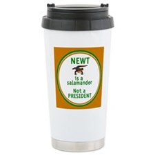 NEWT Is Not a President Thermos Mug