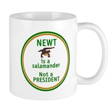 NEWT Is Not a President Small Small Mug