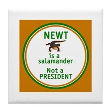 NEWT Is Not a President Tile Coaster