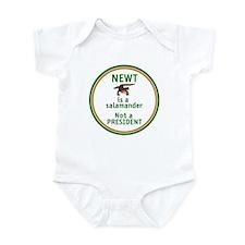 NEWT Is Not a President Infant Bodysuit