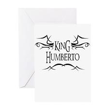 King Humberto Greeting Card