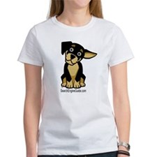 Rottie With Search Engine Gui Tee