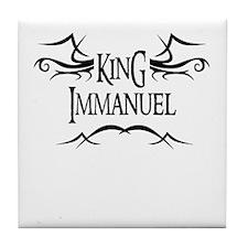 King Immanuel Tile Coaster