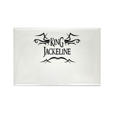 King Jackeline Rectangle Magnet