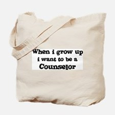 Be A Counselor Tote Bag