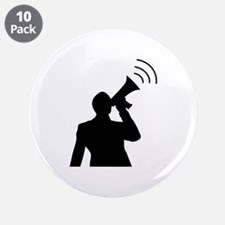 "protester 3.5"" Button (10 pack)"