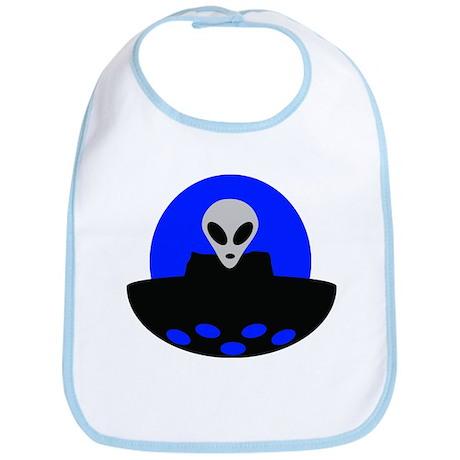 ufo alien area 51 Bib