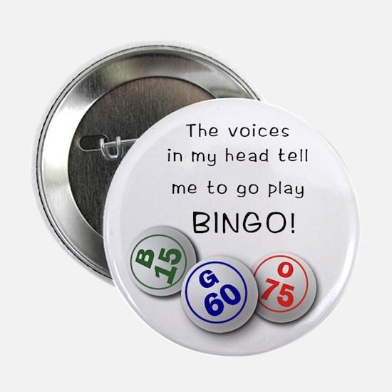 "Bingo Stuff 2.25"" Button"