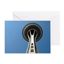 Seattle Space Needle - Greeting Card