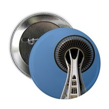 """Seattle Space Needle - 2.25"""" Button"""