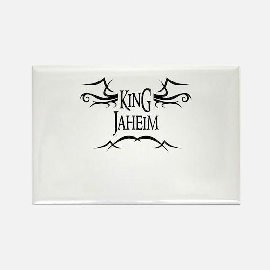 King Jaheim Rectangle Magnet