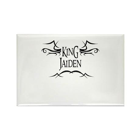 King Jaiden Rectangle Magnet