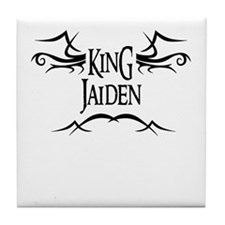King Jaiden Tile Coaster