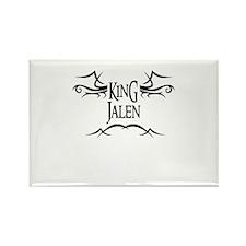 King Jalen Rectangle Magnet