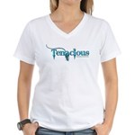 Tenacious Toys Women's V-Neck T-Shirt