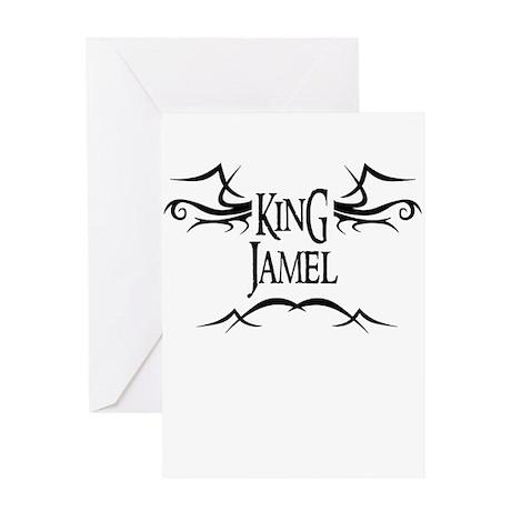 King Jamel Greeting Card