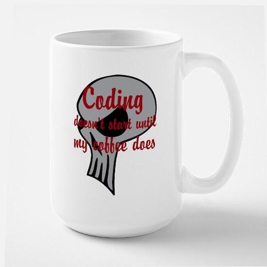 Coding Doesnt Start Mugs