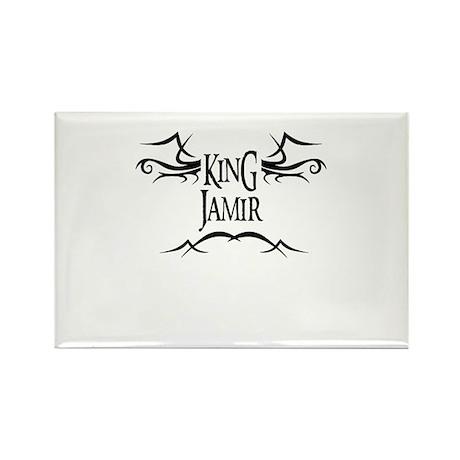 King Jamir Rectangle Magnet