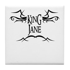 King Jane Tile Coaster